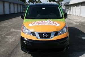 restaurant car wrap west palm beach florida