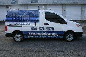 Chevrolet City Express Van Wrap