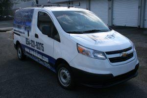 Chevrolet City Express Vehicle Wrap Davie Florida