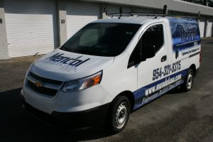 Chevrolet City Express vehicle wrap Fort Lauderdale