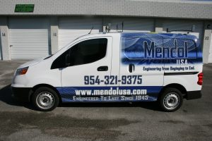 Fort Lauderdale Chevrolet City Express wrap advertising