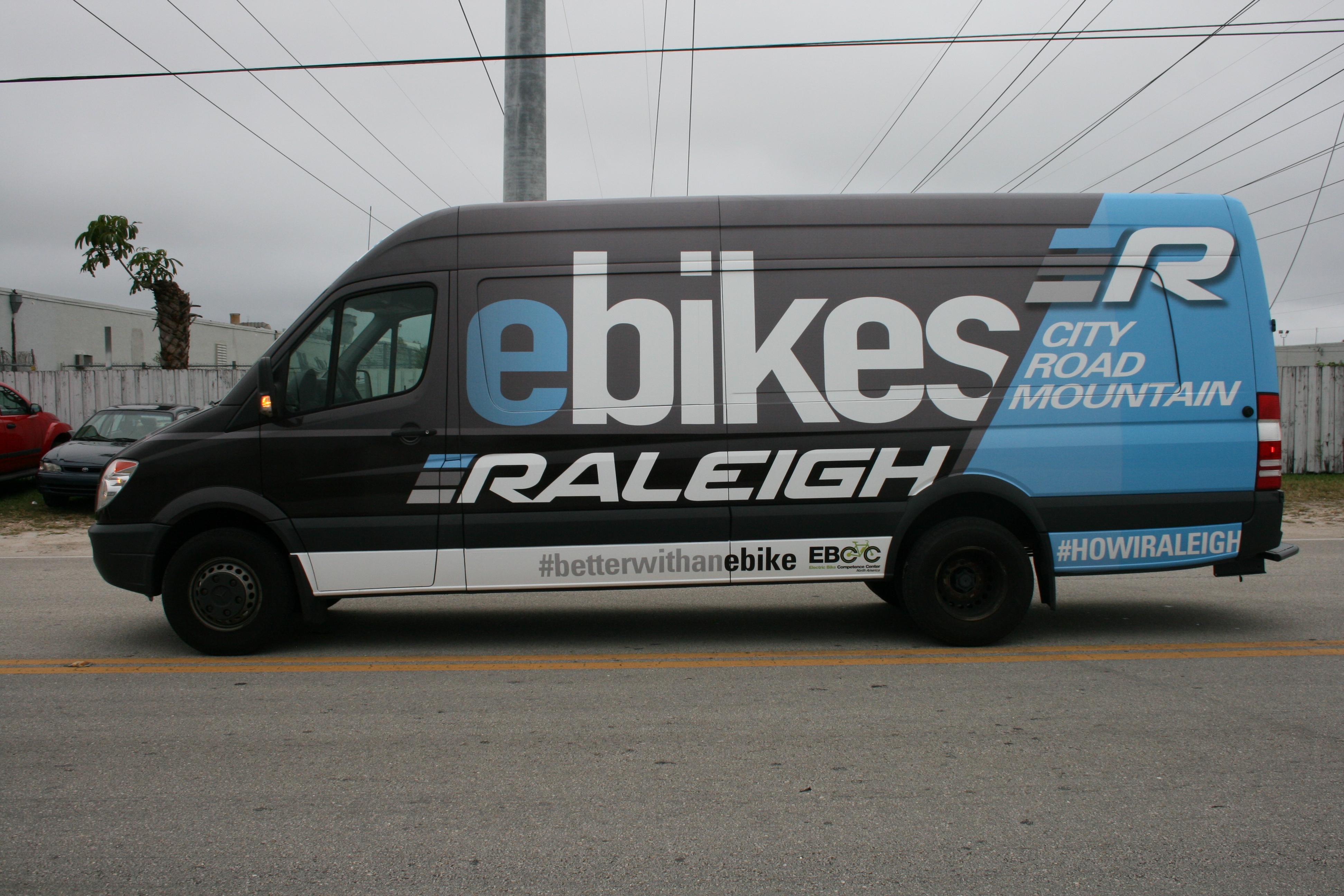 Advertising Marketing Mercedes Sprinter Van Car Wrap Miami