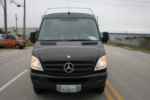 Miami Sprinter van vehicle wrap