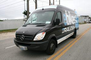 Sprinter van vehicle wrap Miami Florida
