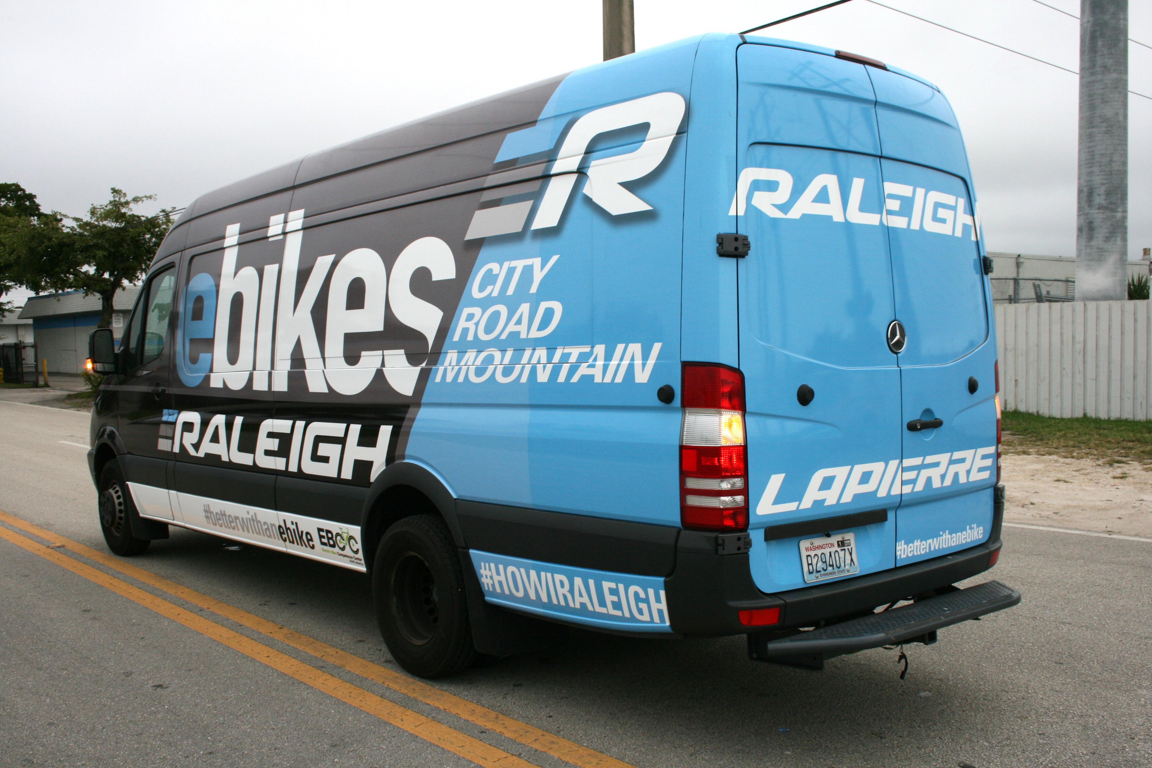 Mercedes Work Van >> Advertising Marketing Mercedes Sprinter Van Car Wrap Miami Florida | Ebikes Car Wrap