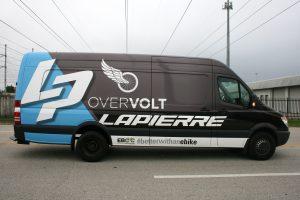 commercial sprinter van vehicle wrap