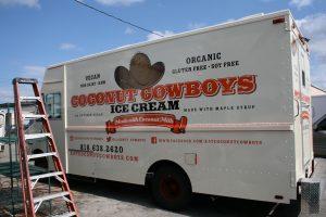 food truck vehicle wrap Davie Florida