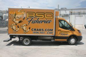 billys-stone-crab-fisheries-car-wrap