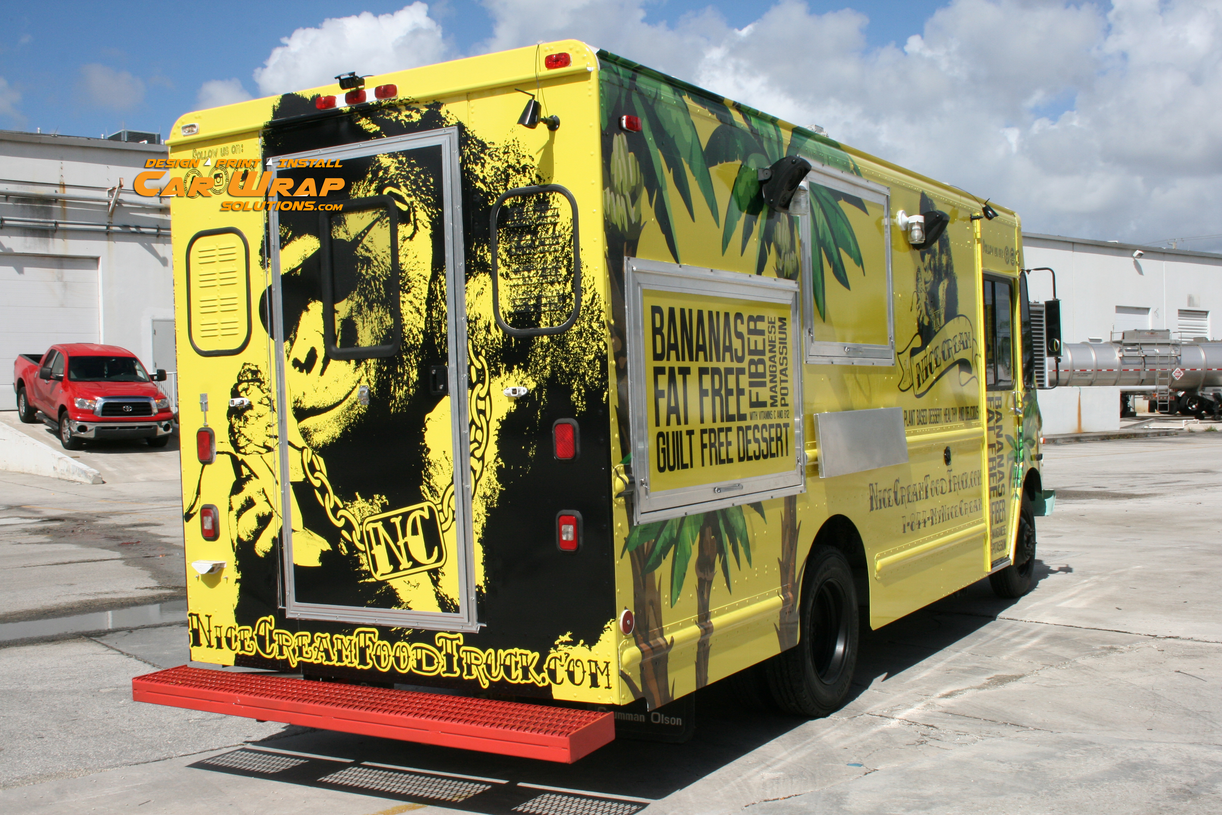 Car wrap solutions knows how to design your food truck wrap for How to design a food truck