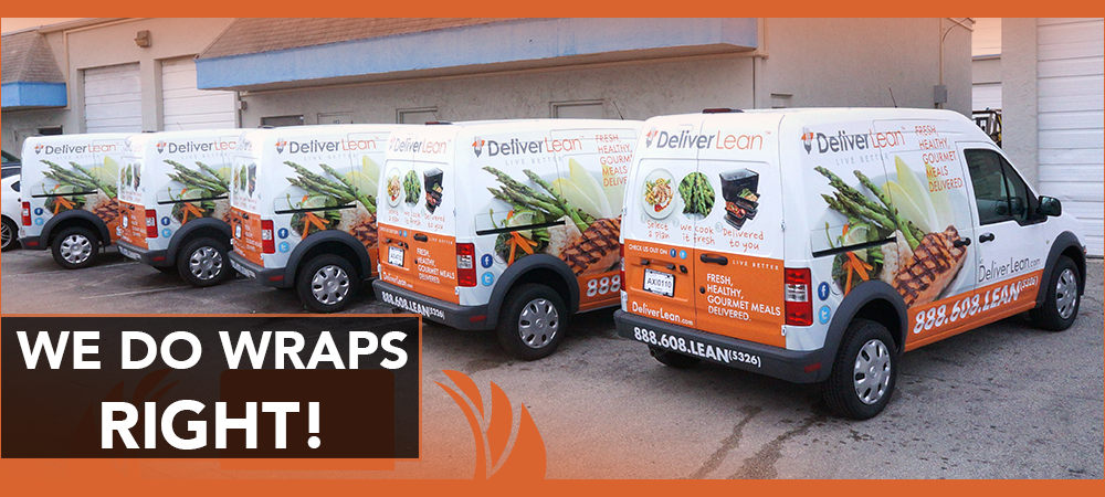 3M vinyl fleet wraps Miami, Fort Lauderdale, Palm Beach, Florida