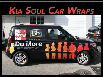 Fort Lauderdale, Miami, & West Palm Beach, FL Kia Soul Car Wraps