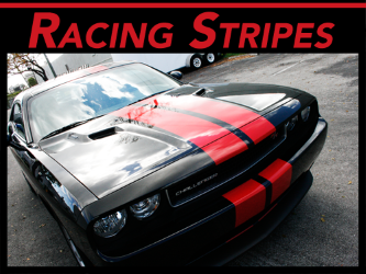 Fort Lauderdale, Miami, West Palm Beach Vinyl Racing & Rally Stripes