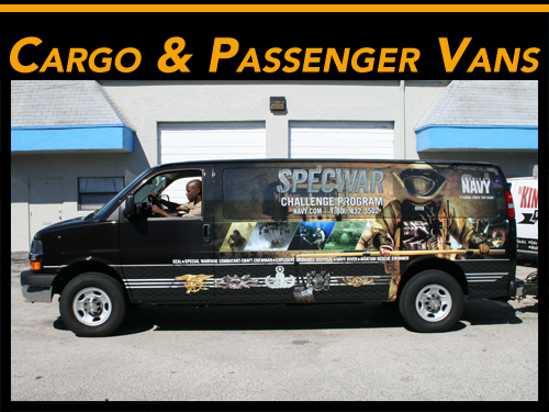 Ford & Chevy Commercial Van Wraps Fort Lauderdale, Miami, West Palm Beach, Florida