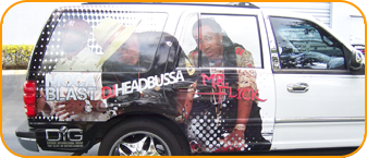 Radio Station Vehicle Wrap, custom van wrap for The B106.3 CBS Radio in West Palm Beach